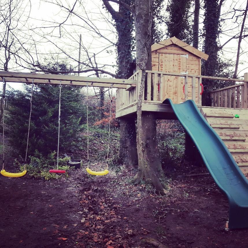Bespoke tree house